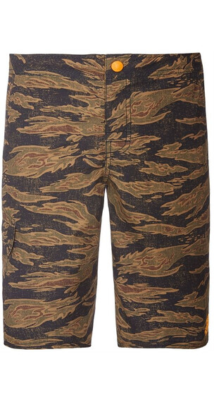The North Face Boys Markhor Hike/Water Short Army Green Tiger Camo Print